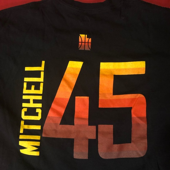 sale retailer e1788 ed488 Donovan Mitchell, Utah Jazz T Shirt